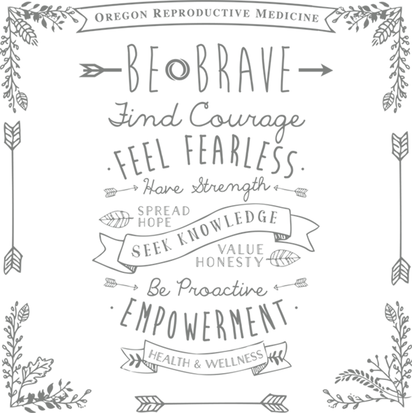 ORM: Be Brave Fertility Banner