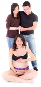Surrogacy Surrogate with Family