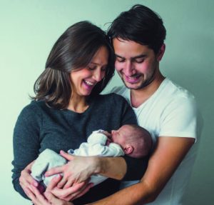 Couple with Baby From Surrogacy