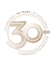 30th Anniversary Logo ORM Fertility