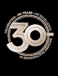 30th Anniversary Logo ORM Fertility