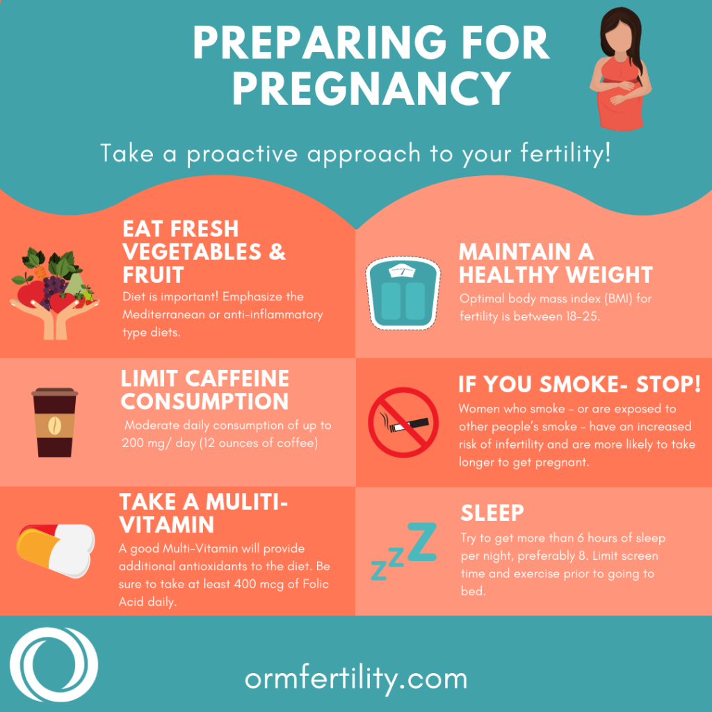 prepare for pregnancy