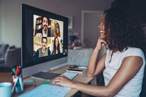 Stay connected through virtual meet ups. Staying connected can help those struggling