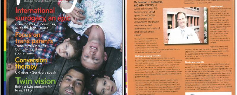 ORM in 'We are Family' Magazine