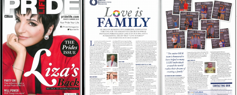 ORM in 'Pride Life' Magazine