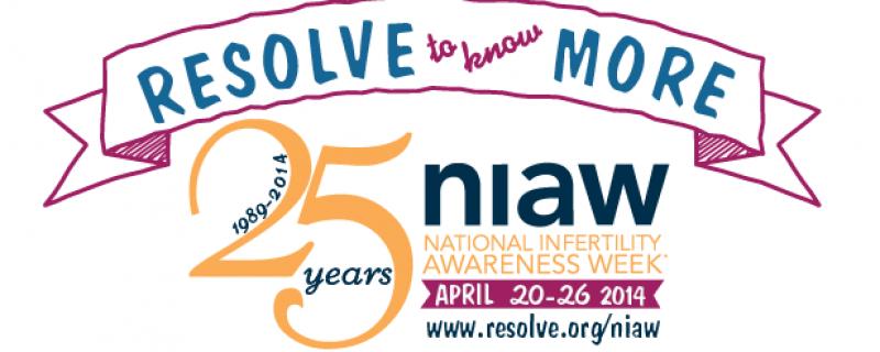 National Infertility Awareness Week – 2014