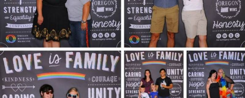 """Love is Family"" Photo Booth"