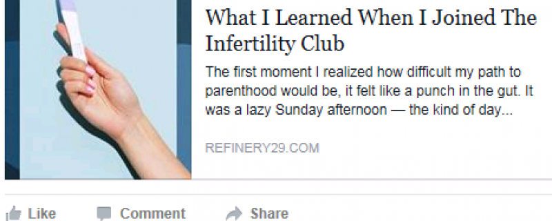 Infertility Article